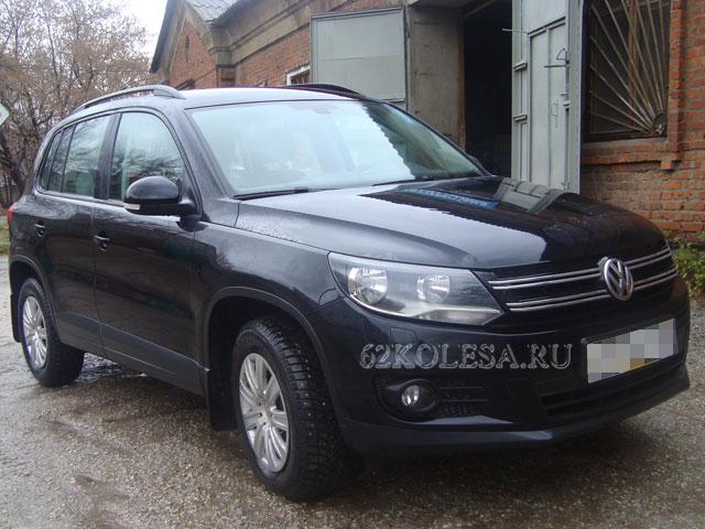 Volkswagen Tiguan (черный)
