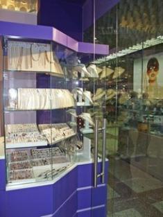 Специализированная мебель для ювелирных магазинов