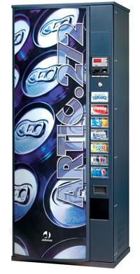 Торговый автомат Jofemar Artic 272