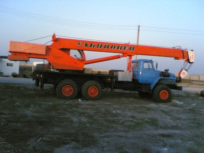 Автокран МКТ 25,5т. на базе Урала