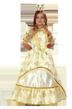 Костюм Золушка-Принцесса золотая