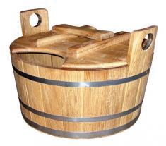 Запарники для бани, вёдра, шайки и обливные устройства. Аксессуары для бани и сауны.