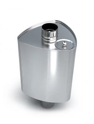 Баки для воды из нержавейки для бани на 40, 50, 60 литров
