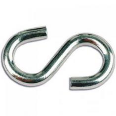Крюк S-образный цинк 3мм.