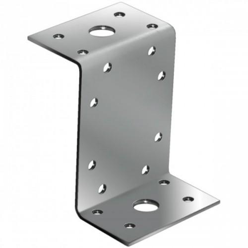 Крепежный уголок Z-образный оц. 45х90х45х65мм.