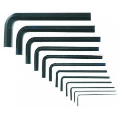 Ключи имбус. шестигр. н-р 1,5-10мм 9шт Nox