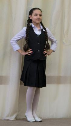 Жилет ЖД7, юбка Ю7