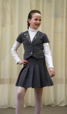 Жилет Ж6, юбка Ю1