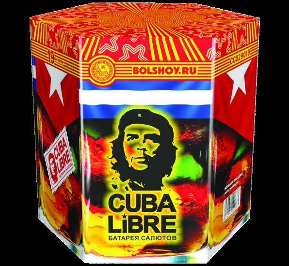фейерверк Куба либре