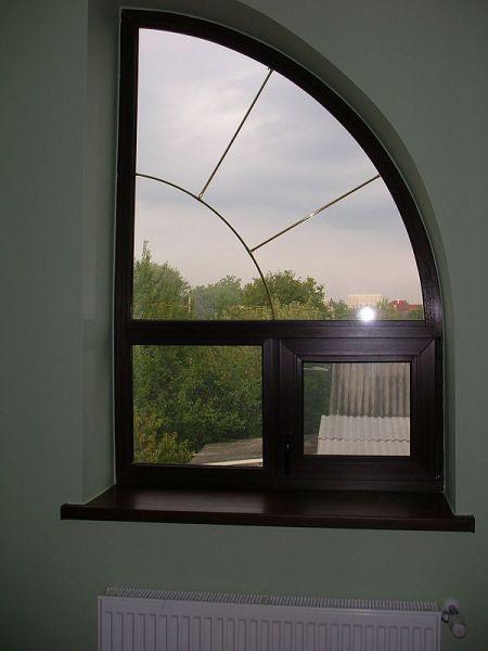 Окна сложной геометрии