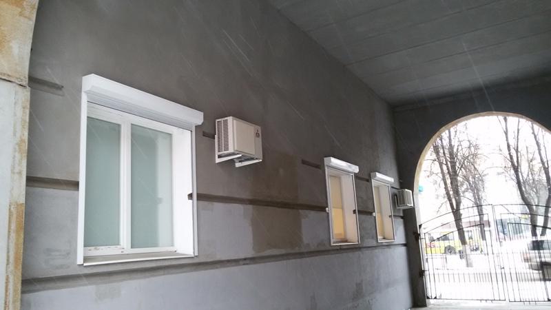Окна ПВХ и рольставни