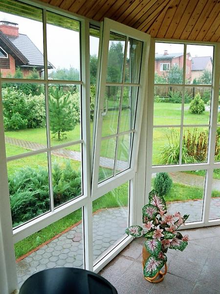 Панорамное остекление, французские окна