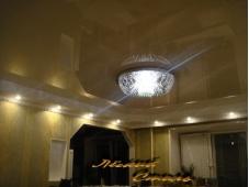 Натяжные потолки и осветительные конструкции