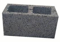 Блок стеновой 2-х.пуст. керамзитобетонный