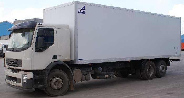 Фургон промтоварный пластиковый