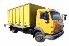 Фургон для перевозки хлебобулочных изделий