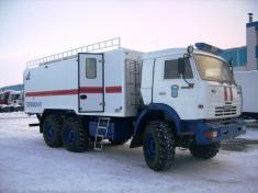 Фургон для МЧС