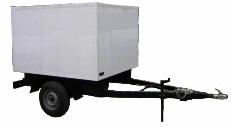 Прицеп-фургон легковой