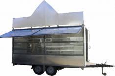 Прицеп-магазин для торговли хлебом