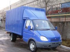 ГАЗель удлинённая с фургоном 4.1м