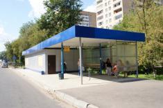 Монтаж остановочных комплексов