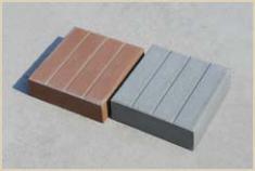 Плитка бетонная тротуарная «КВАДРАТ»