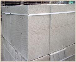 Мелкие стеновые блоки из ячеистого бетона