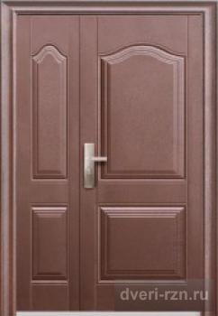 Дверь металлическая широкая (мин.вата)