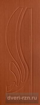 Дверь Лотос итальянский орех (ПВХ)