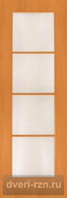 Дверь ламинированная 4с10 миланский орех