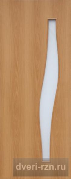 Дверь ламинированная 4с6 миланский орех