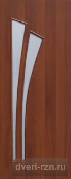 Дверь ламинированная 4с4 итальянский орех