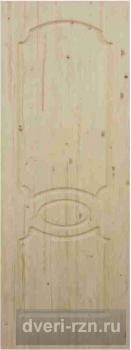 Дверь из массива Классик (необработанное полотно)
