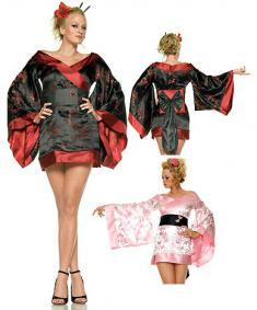 костюм гейши