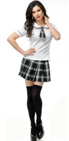 костюм школьницы