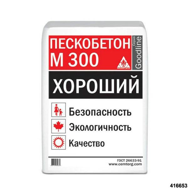 пескобетон м 300
