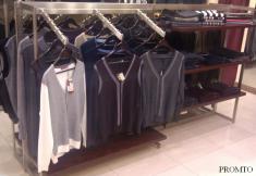 Торговое оборудование для магазинов одежды в ТРЦ
