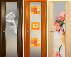 двери межкомнатные с фотопечатью