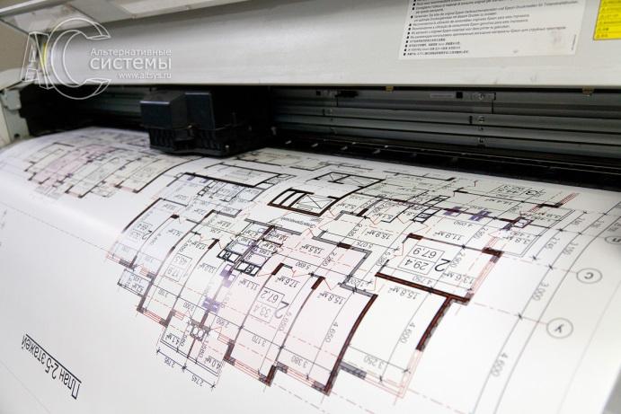 Интерьерная печать на бумаге