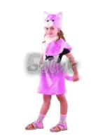 Кошка розовая 110