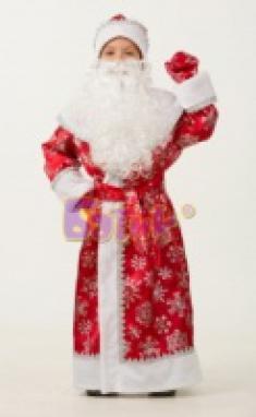 Дед Мороз сатин 1206