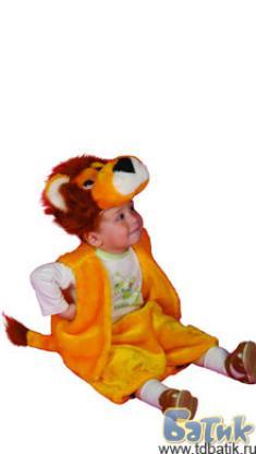 Костюм львенка для мальчика