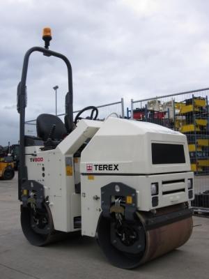 Двухвальцевый тротуарный виброкаток TEREX TV-800H (Англия)