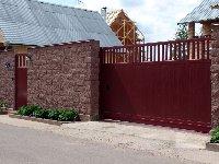 Откатные (раздвижные) ворота
