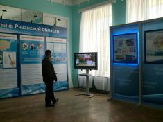 Оформление выставки Кластерная политика Рязанской области