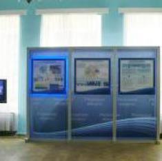 Стенд для выставки Кластерная политика Рязанской области