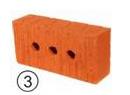 Кирпич одинарный рядовой с гладкой и рифленой поверхностью