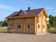 Рубленый дом