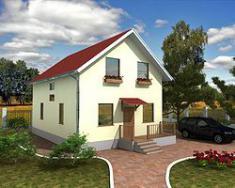 Каркасно-панельный дом 118м2
