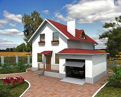 Каркасно-панельный дом 138 м2